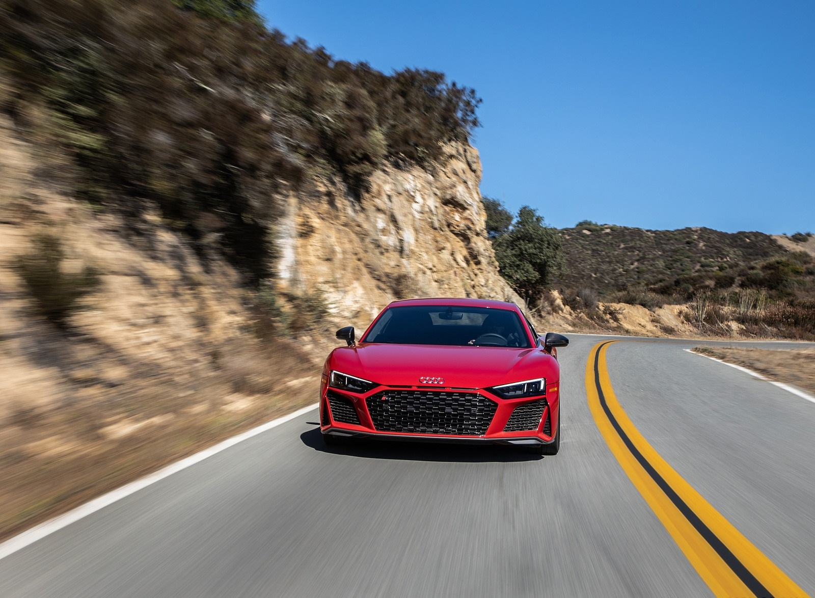 2020 Audi R8 Coupe (US-Spec) Front Wallpapers (5)