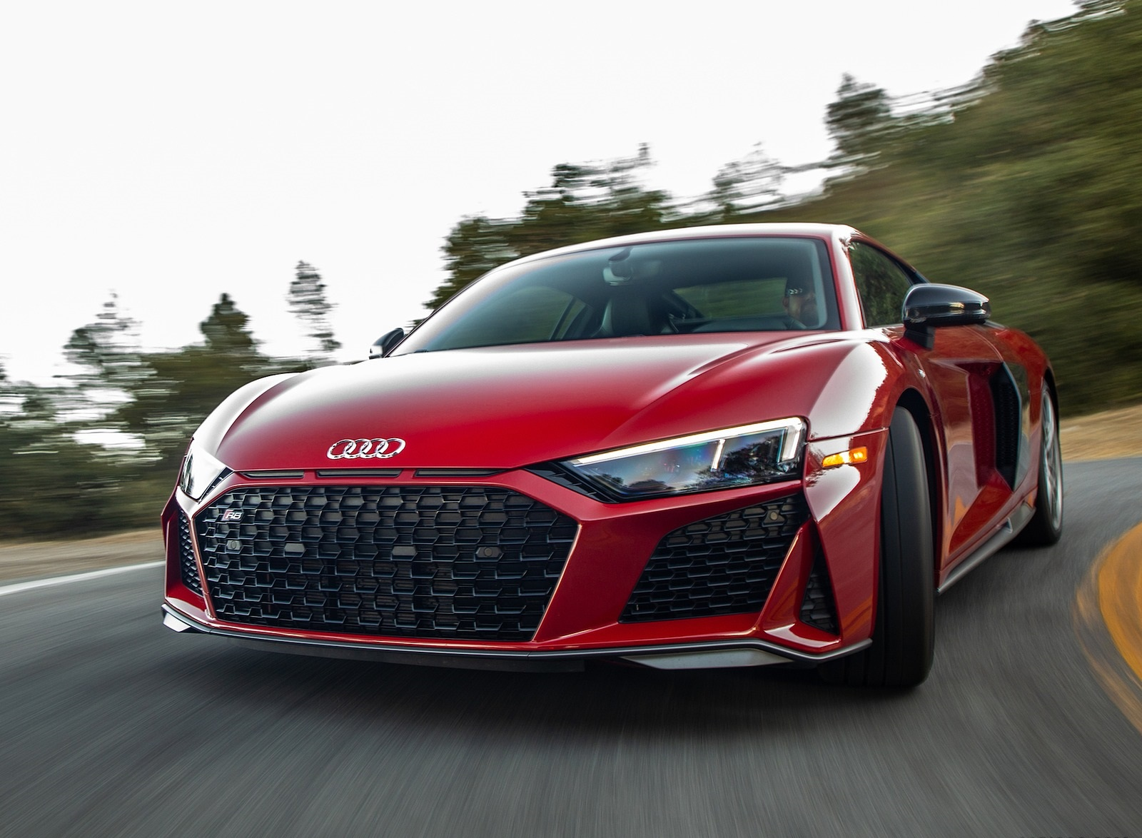 2020 Audi R8 Coupe (US-Spec) Front Wallpapers (9)