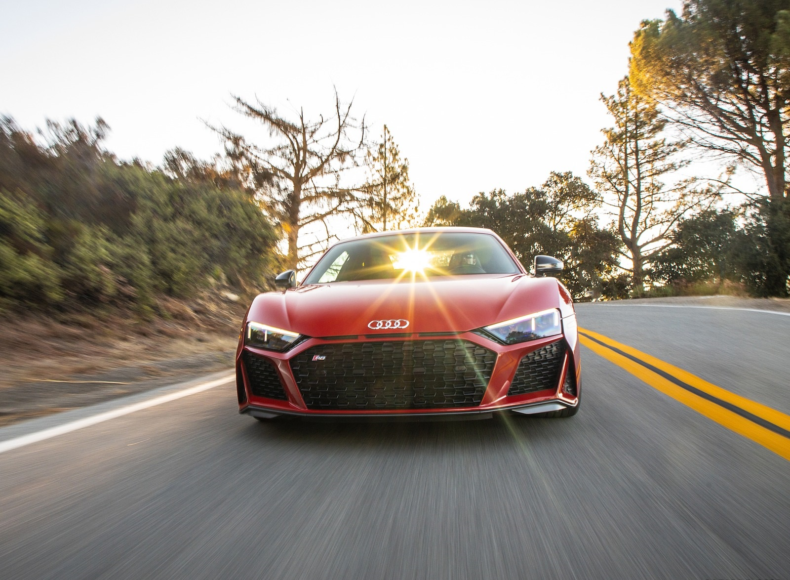 2020 Audi R8 Coupe (US-Spec) Front Wallpapers (8)