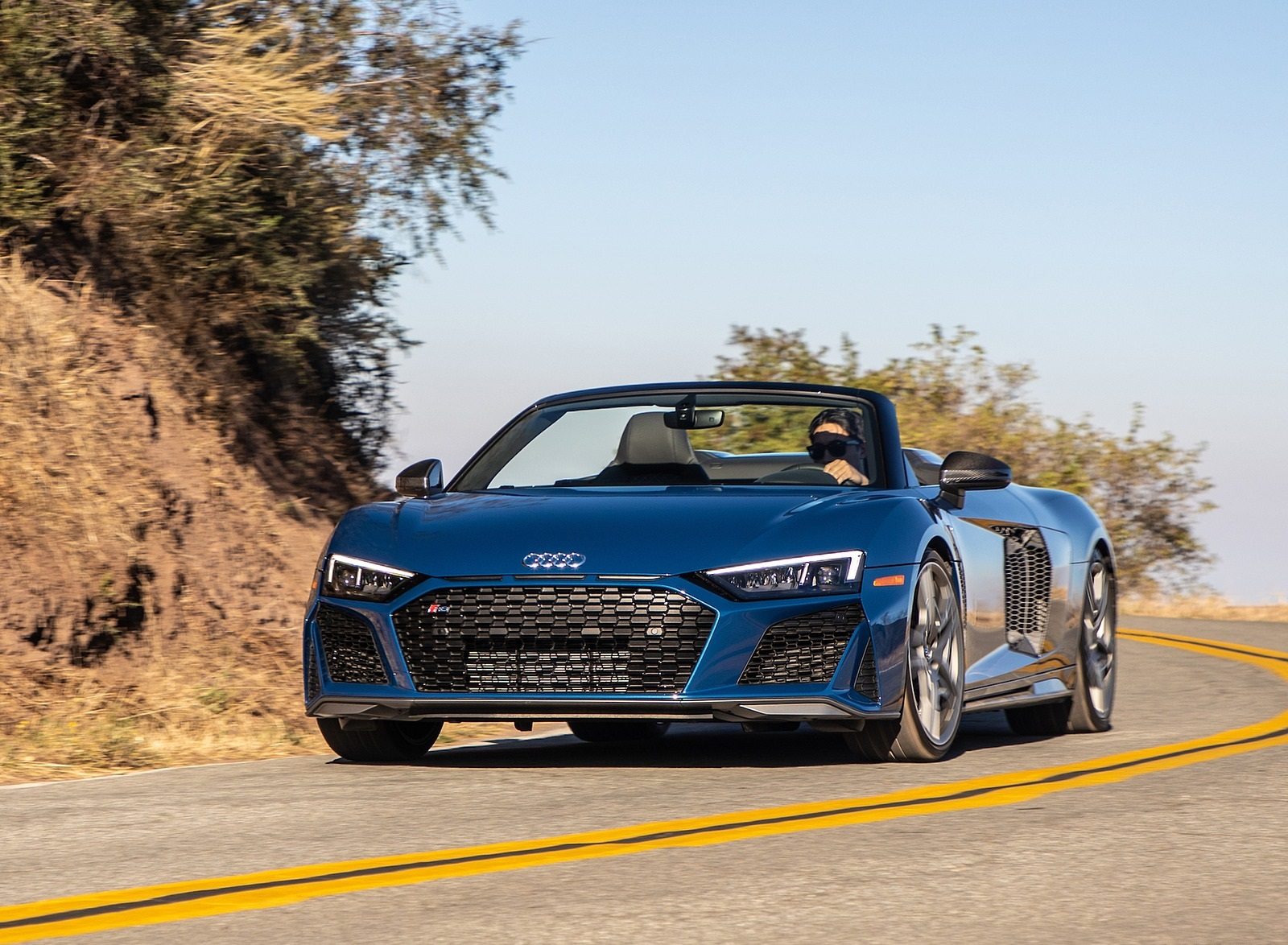 2020 Audi R8 Spyder Us Spec Wallpapers 46 Hd Images Newcarcars