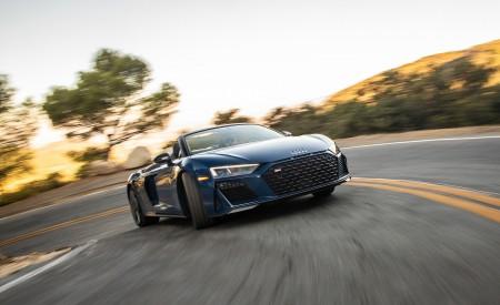 2020 Audi R8 Spyder (US-Spec) Front Wallpapers 450x275 (5)