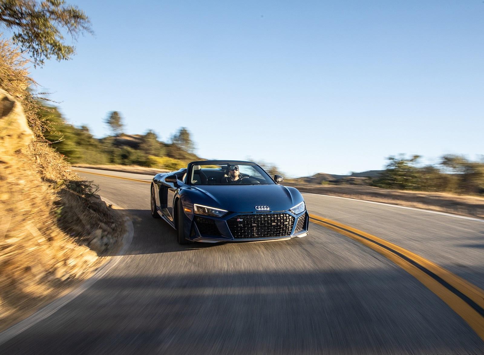 2020 Audi R8 Spyder (US-Spec) Front Wallpapers (10)