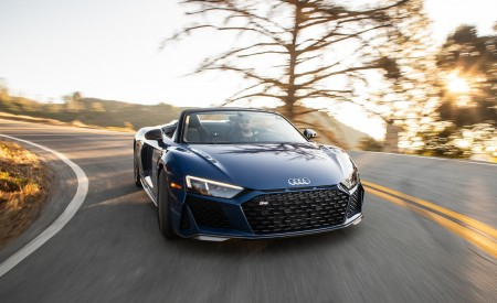 2020 Audi R8 Spyder (US-Spec) Wallpapers HD