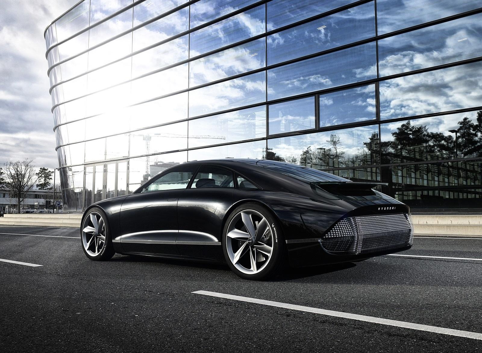 2020 Hyundai Prophecy EV Concept Rear Three-Quarter Wallpapers (4)
