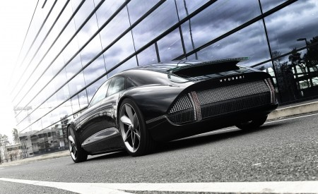 2020 Hyundai Prophecy EV Concept Rear Three-Quarter Wallpapers 450x275 (6)