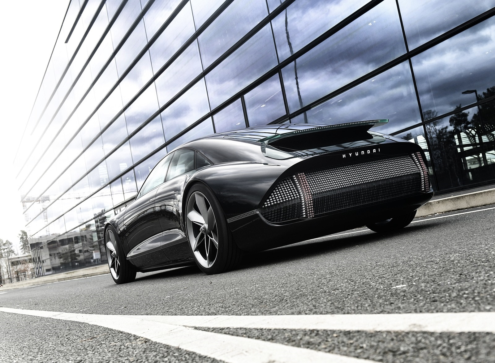2020 Hyundai Prophecy EV Concept Rear Three-Quarter Wallpapers (6)