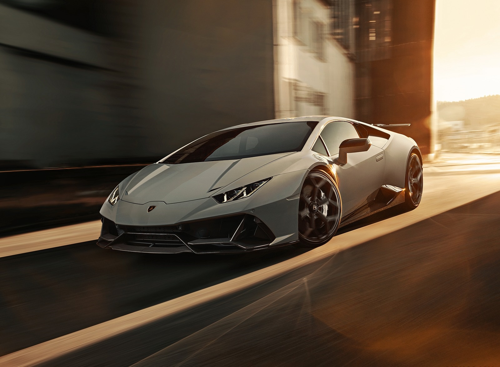 2020 NOVITEC Lamborghini Huracán EVO Front Three-Quarter Wallpapers (2)