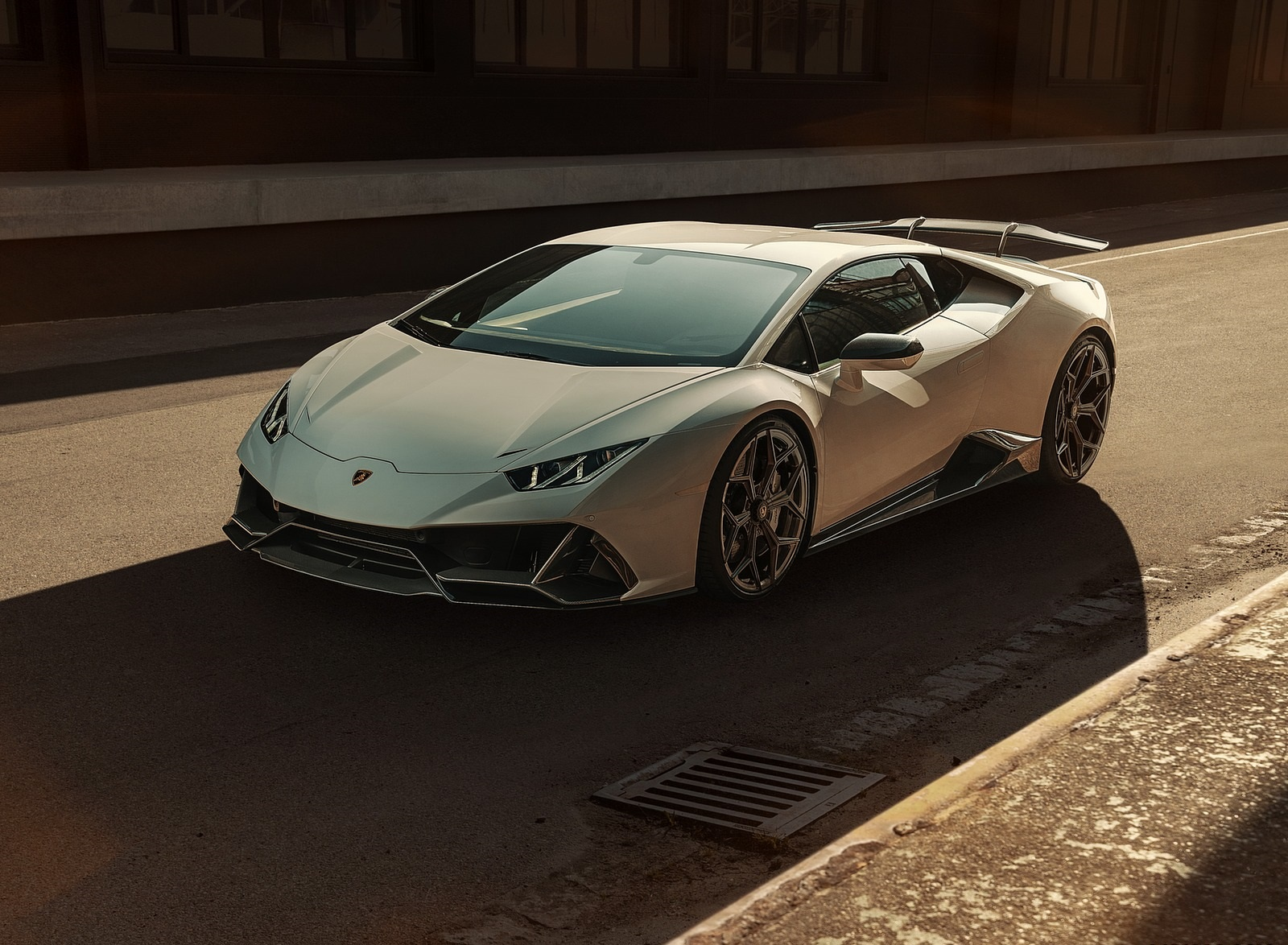 2020 NOVITEC Lamborghini Huracán EVO Front Three-Quarter Wallpapers (1)
