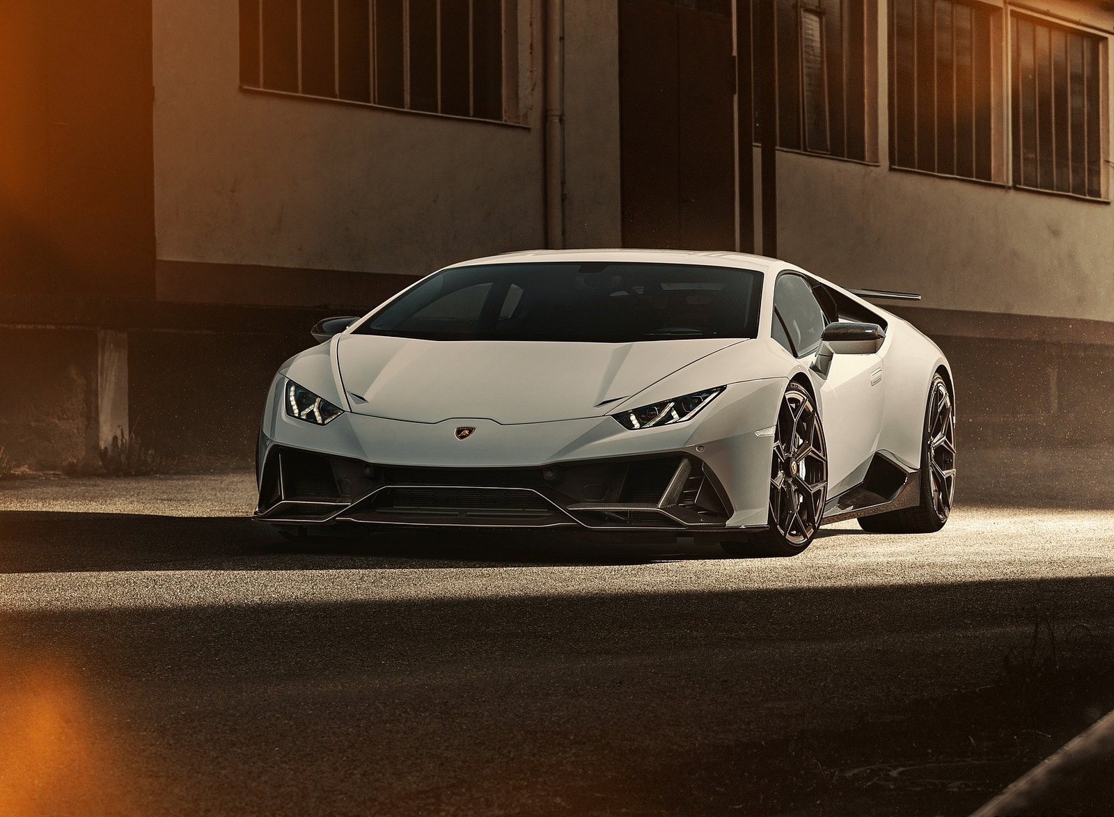 2020 NOVITEC Lamborghini Huracán EVO Front Wallpapers (3)