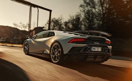 2020 NOVITEC Lamborghini Huracán EVO Rear Three-Quarter Wallpapers 450x275 (4)