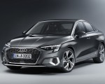 2021 Audi A3 Sedan (Color: Manhattan Gray) Front Three-Quarter Wallpapers 150x120 (21)