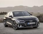 2021 Audi A3 Sedan (Color: Manhattan Gray) Front Three-Quarter Wallpapers 150x120 (5)