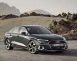 2021 Audi A3 Sedan (Color: Manhattan Gray) Front Three-Quarter Wallpapers 150x120 (6)