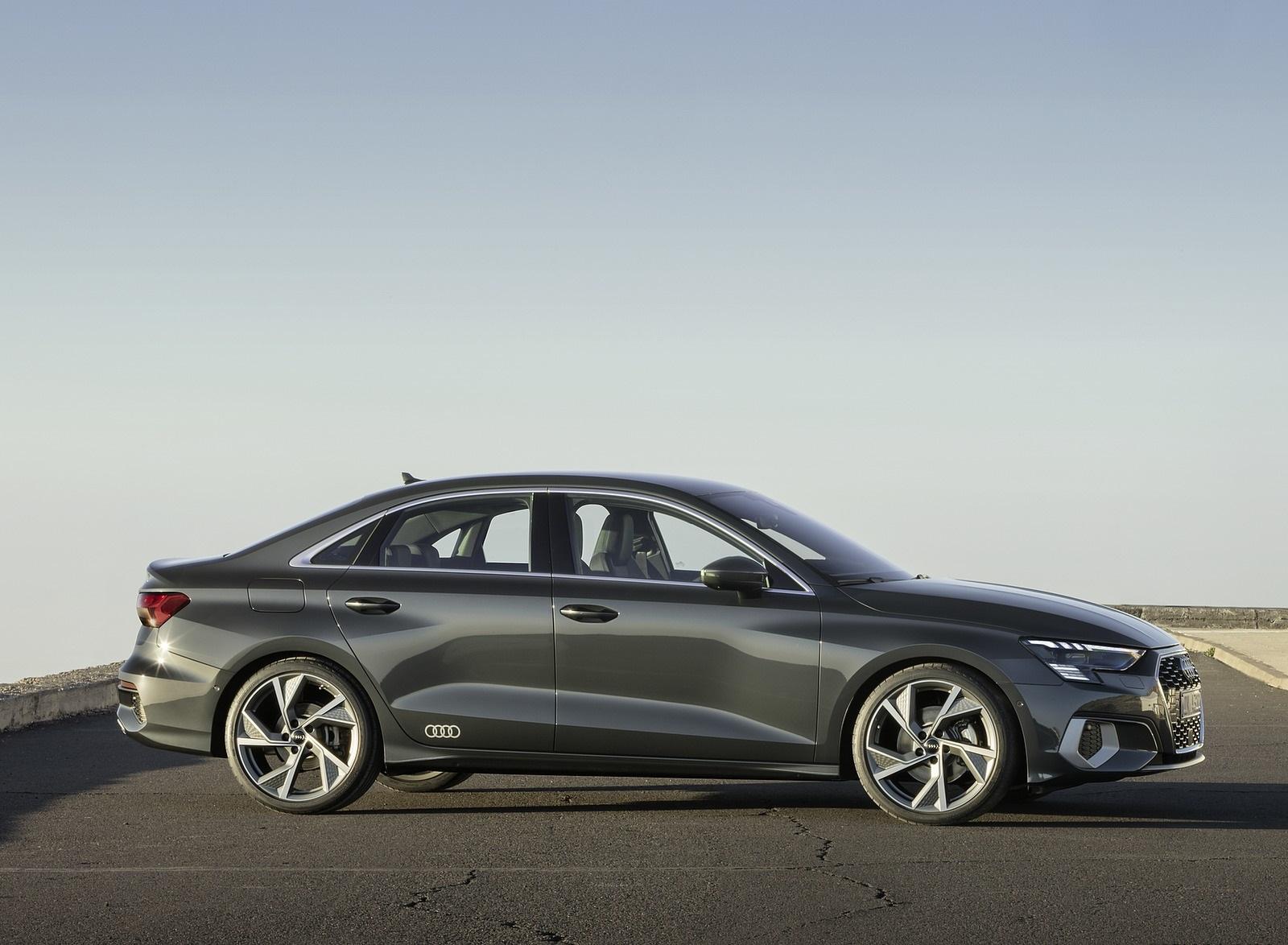 2021 Audi A3 Sedan (Color: Manhattan Gray) Side Wallpapers (10)