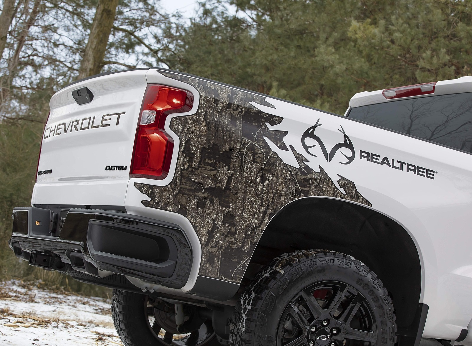 2021 Chevrolet Silverado Realtree Edition Detail Wallpapers (4)