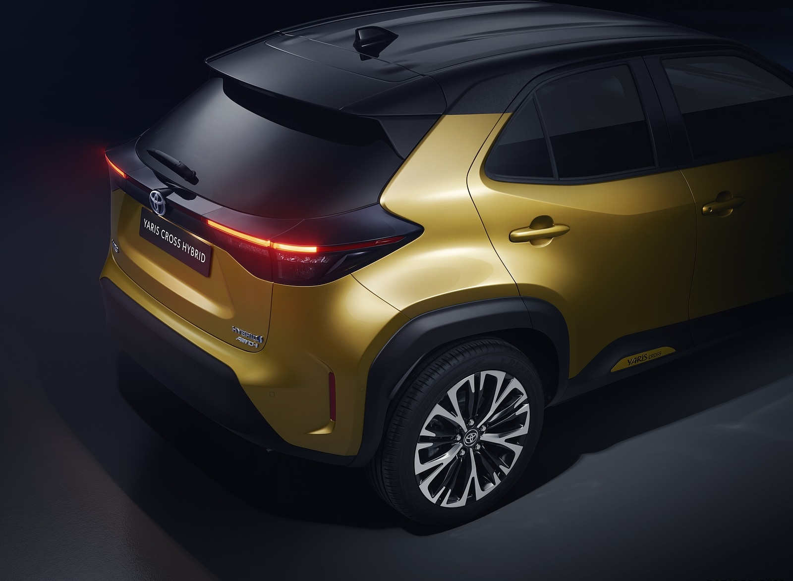 2021 Toyota Yaris Cross Hybrid AWD Detail Wallpapers (10)