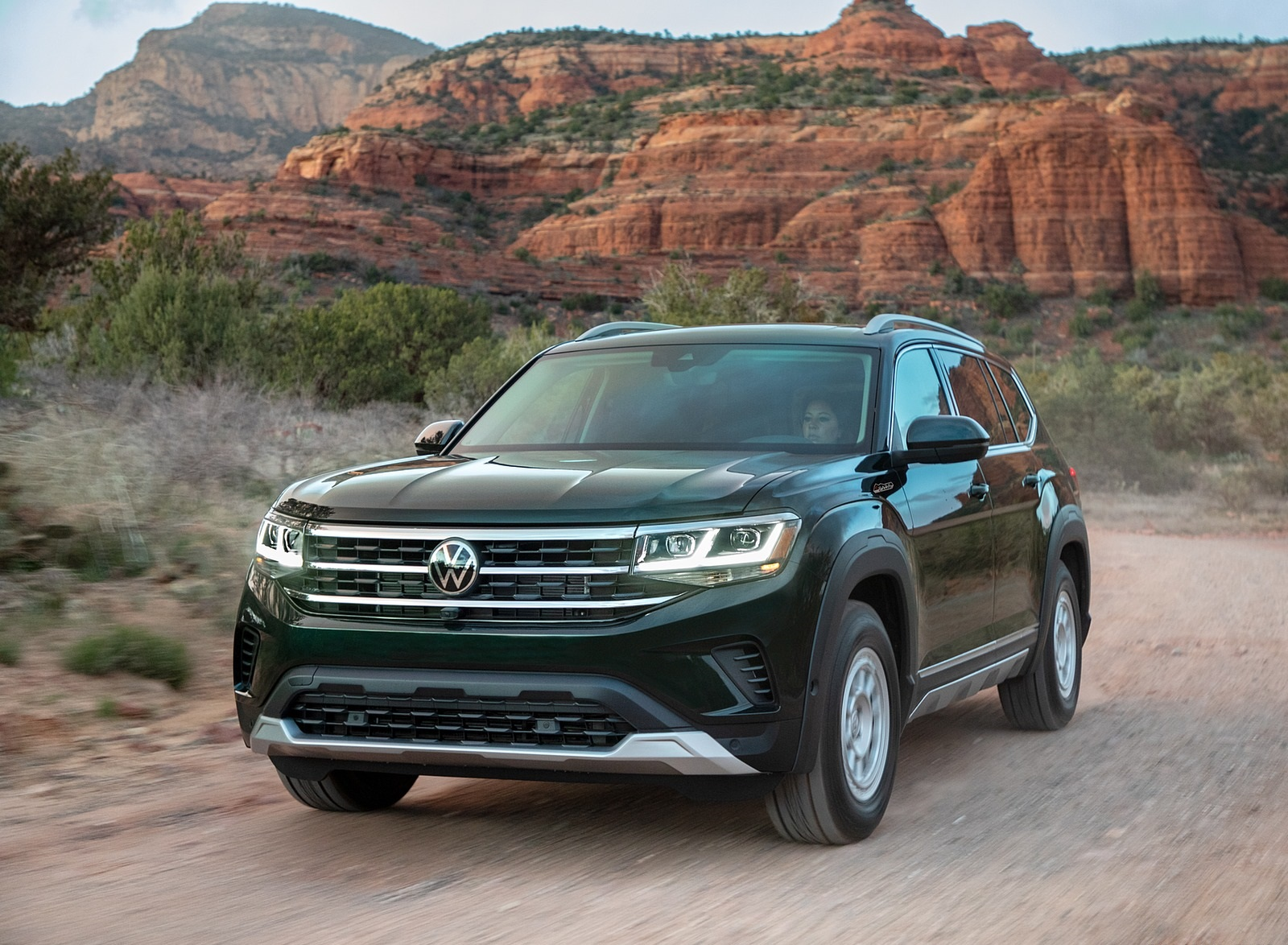 2021 Volkswagen Atlas Basecamp Front Three-Quarter Wallpapers (2)