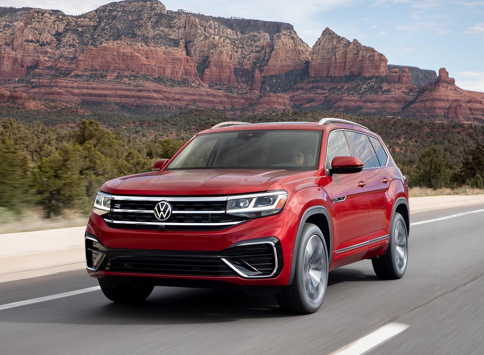 2021 Volkswagen Atlas SEL Premium 4Motion Front Three-Quarter Wallpapers (2)