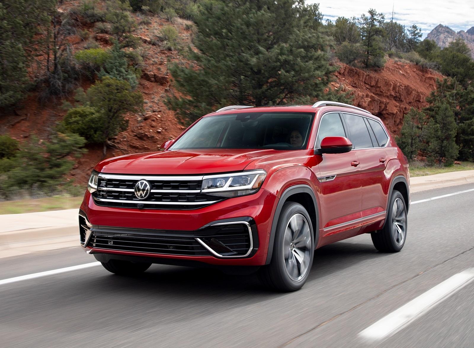 2021 Volkswagen Atlas SEL Premium 4Motion Front Three-Quarter Wallpapers (1)