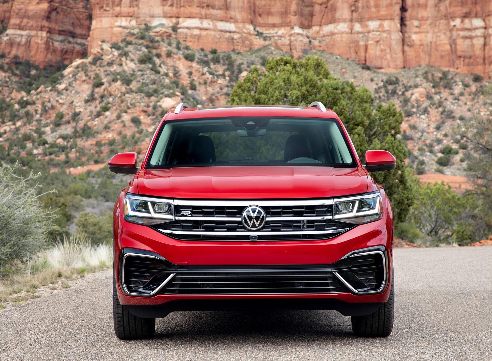 2021 Volkswagen Atlas SEL Premium 4Motion Front Wallpapers (10)