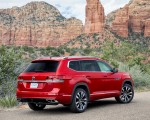 2021 Volkswagen Atlas SEL Premium 4Motion Rear Three-Quarter Wallpapers 150x120 (11)