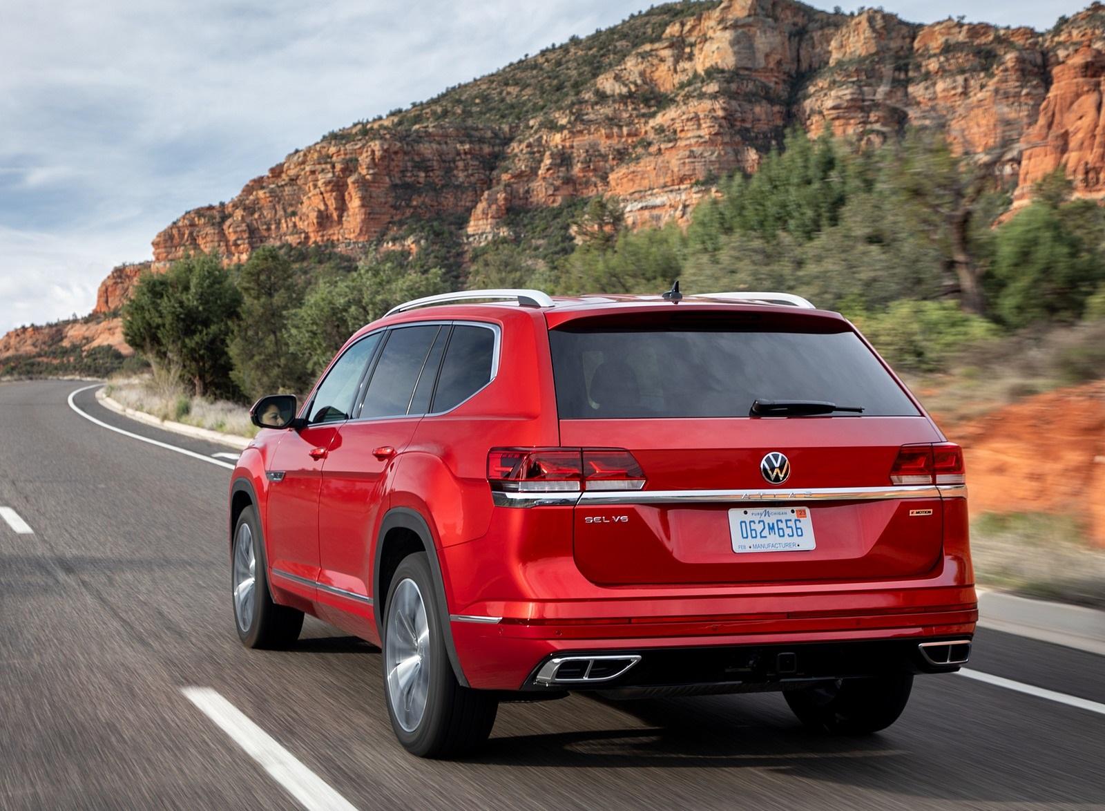 2021 Volkswagen Atlas SEL Premium 4Motion Rear Three-Quarter Wallpapers (6)