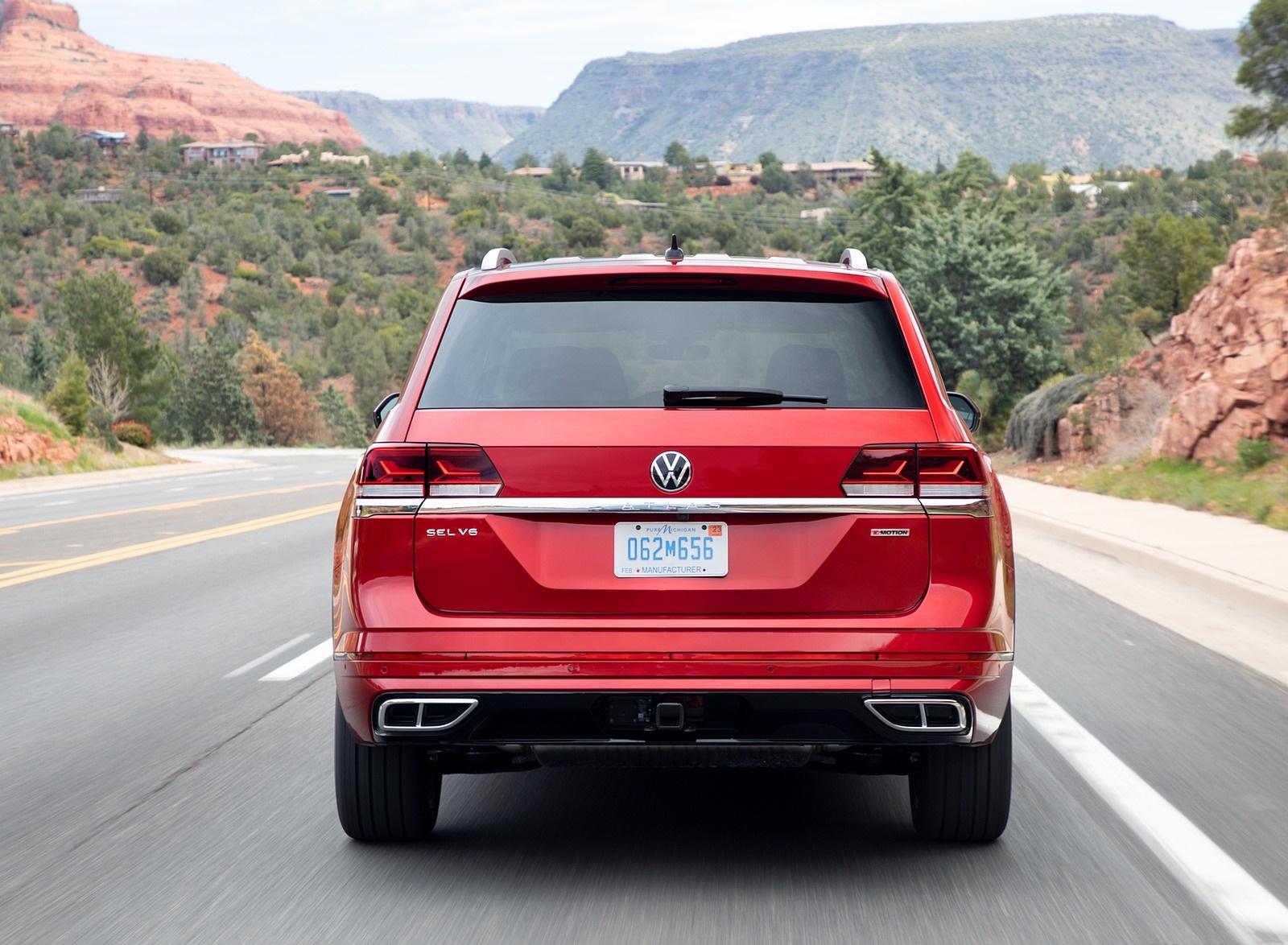 2021 Volkswagen Atlas SEL Premium 4Motion Rear Wallpapers (7)