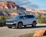 2021 Volkswagen Atlas SEL R-line Front Three-Quarter Wallpapers 150x120 (8)
