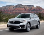 2021 Volkswagen Atlas SEL R-line Front Three-Quarter Wallpapers 150x120 (1)