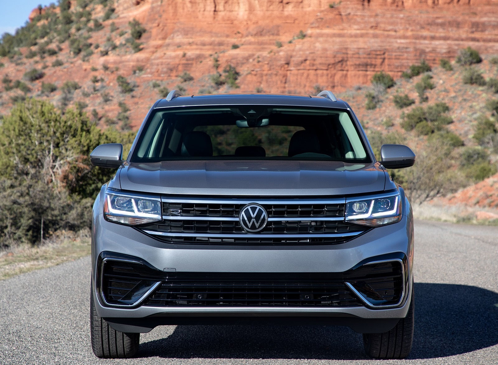 2021 Volkswagen Atlas SEL R-line Front Wallpapers (9)