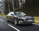 2020 Audi A8 L 60 TFSI e quattro (Plug-In Hybrid UK-Spec) Front Three-Quarter Wallpapers 150x120 (2)