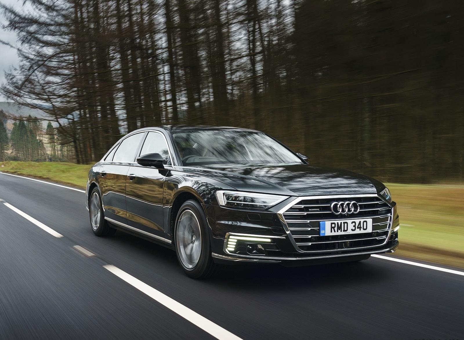 2020 Audi A8 L 60 TFSI e quattro (Plug-In Hybrid UK-Spec) Front Three-Quarter Wallpapers (2)