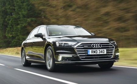 2020 Audi A8 L 60 TFSI E Quattro (UK-Spec) Wallpapers HD