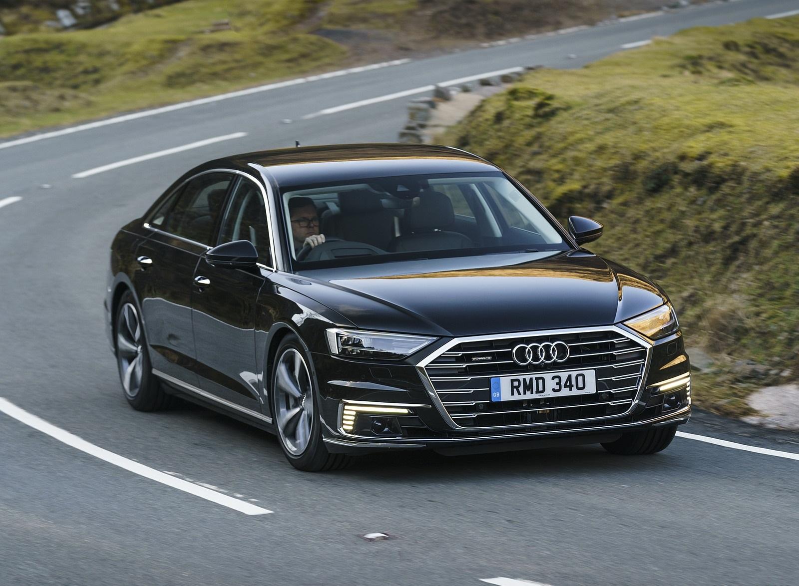 2020 Audi A8 L 60 TFSI e quattro (Plug-In Hybrid UK-Spec) Front Three-Quarter Wallpapers (7)