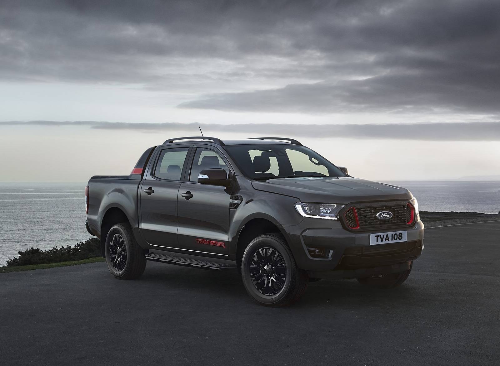 2020 Ford Ranger Thunder Front Three-Quarter Wallpapers (3)
