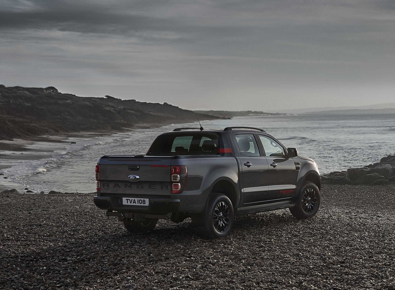 2020 Ford Ranger Thunder Rear Three-Quarter Wallpapers (7)