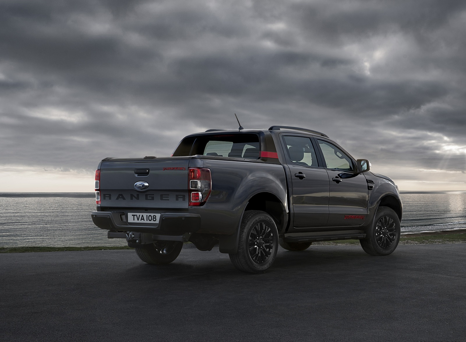 2020 Ford Ranger Thunder Rear Three-Quarter Wallpapers (4)