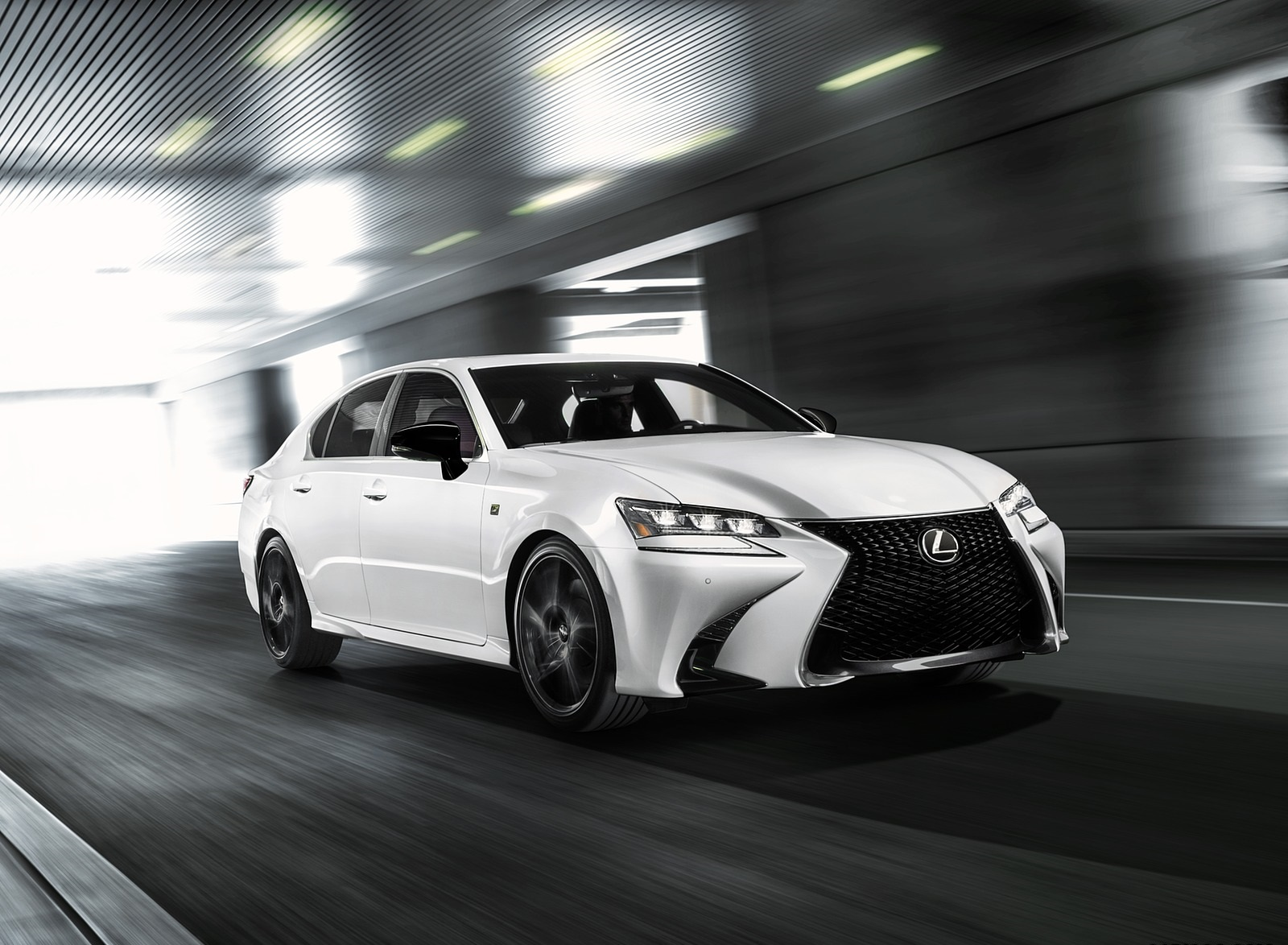 2020 Lexus GS 350 F SPORT Black Line Special Edition Front Three-Quarter Wallpapers (1)