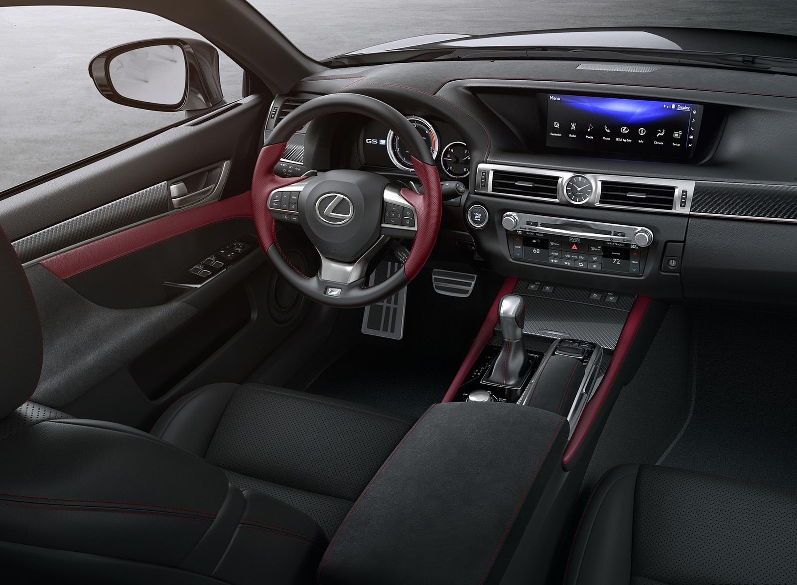 2020 Lexus GS 350 F SPORT Black Line Special Edition Interior Cockpit Wallpapers (5)