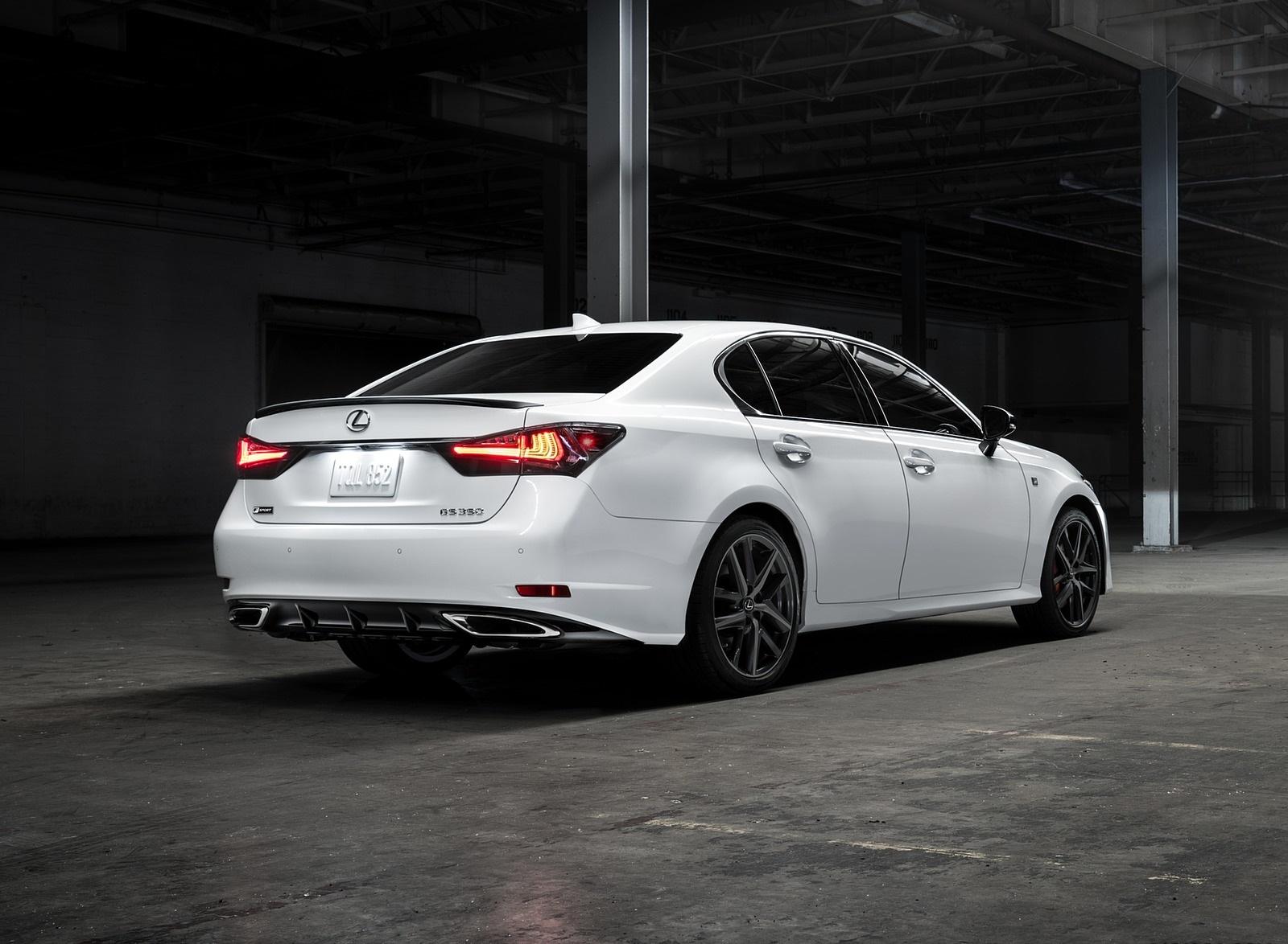 2020 Lexus GS 350 F SPORT Black Line Special Edition Rear Three-Quarter Wallpapers (2)