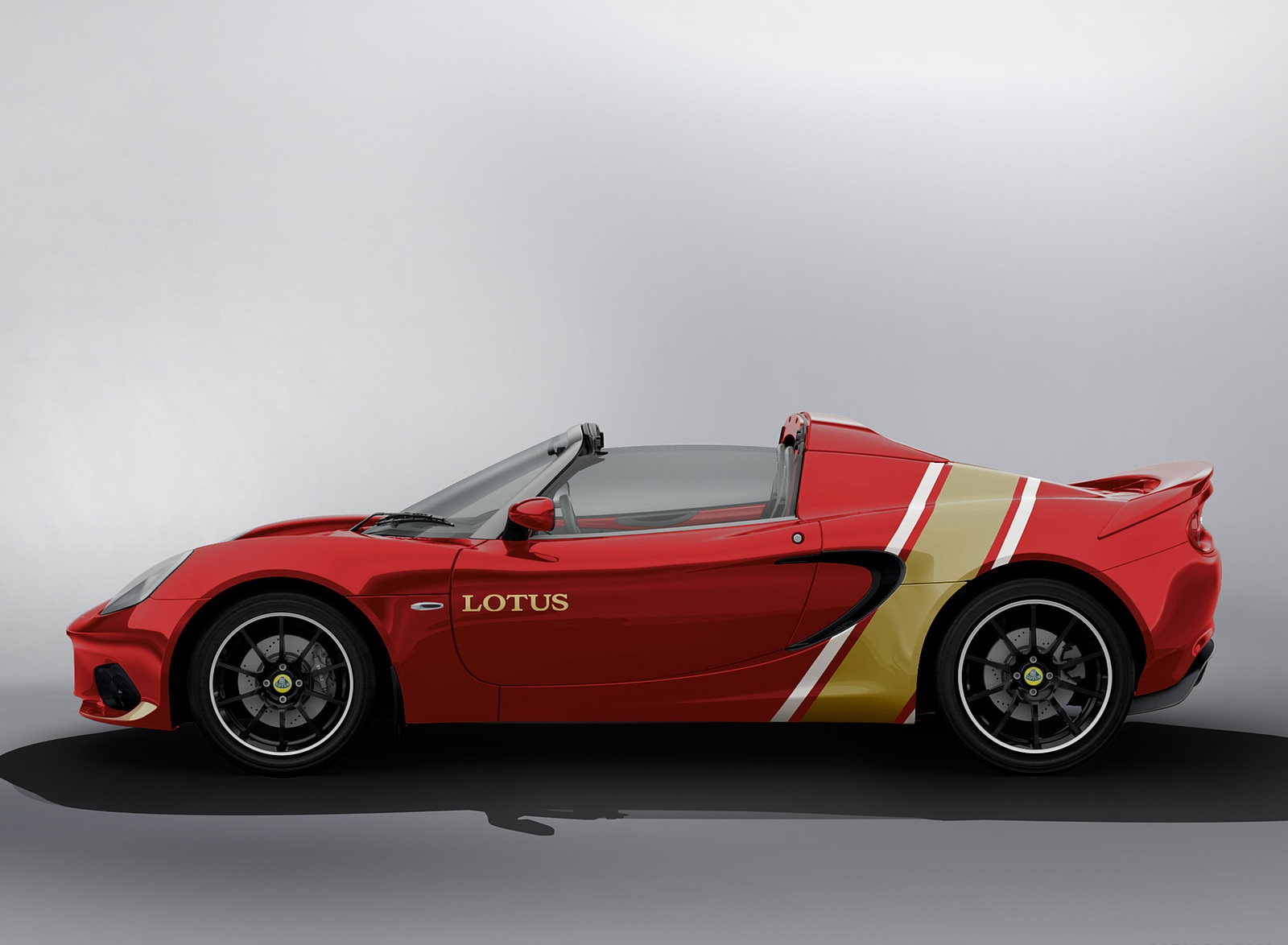2020 Lotus Elise Classic Heritage Edition in tribute to Type 49B Side Wallpapers (2)