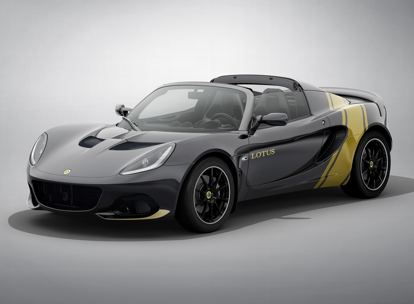 2020 Lotus Elise Classic Heritage Edition in tribute to Type 72D Front Three-Quarter Wallpapers (4)