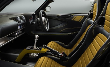 2020 Lotus Elise Classic Heritage Edition in tribute to Type 72D Interior Wallpapers 450x275 (6)