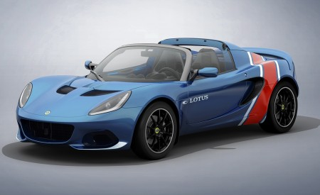 2020 Lotus Elise Classic Heritage Edition in tribute to Type 81 Front Three-Quarter Wallpapers 450x275 (7)