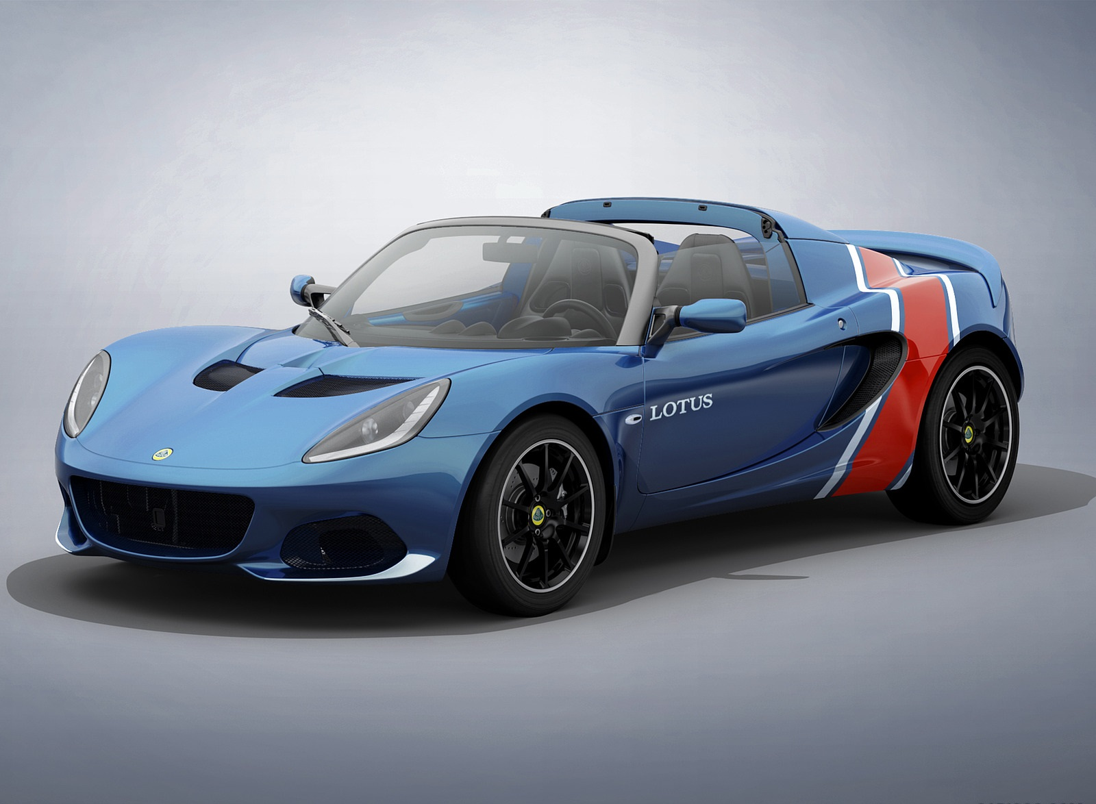 2020 Lotus Elise Classic Heritage Edition in tribute to Type 81 Front Three-Quarter Wallpapers (7)