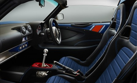 2020 Lotus Elise Classic Heritage Edition in tribute to Type 81 Interior Wallpapers 450x275 (9)