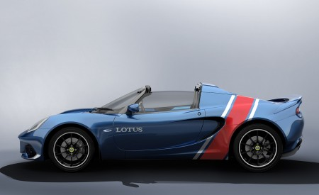 2020 Lotus Elise Classic Heritage Edition in tribute to Type 81 Side Wallpapers 450x275 (8)