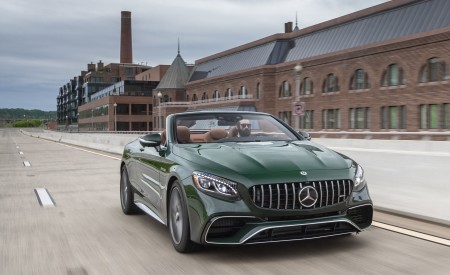 2020 Mercedes-AMG S 63 Cabriolet (US-Spec) Wallpapers HD