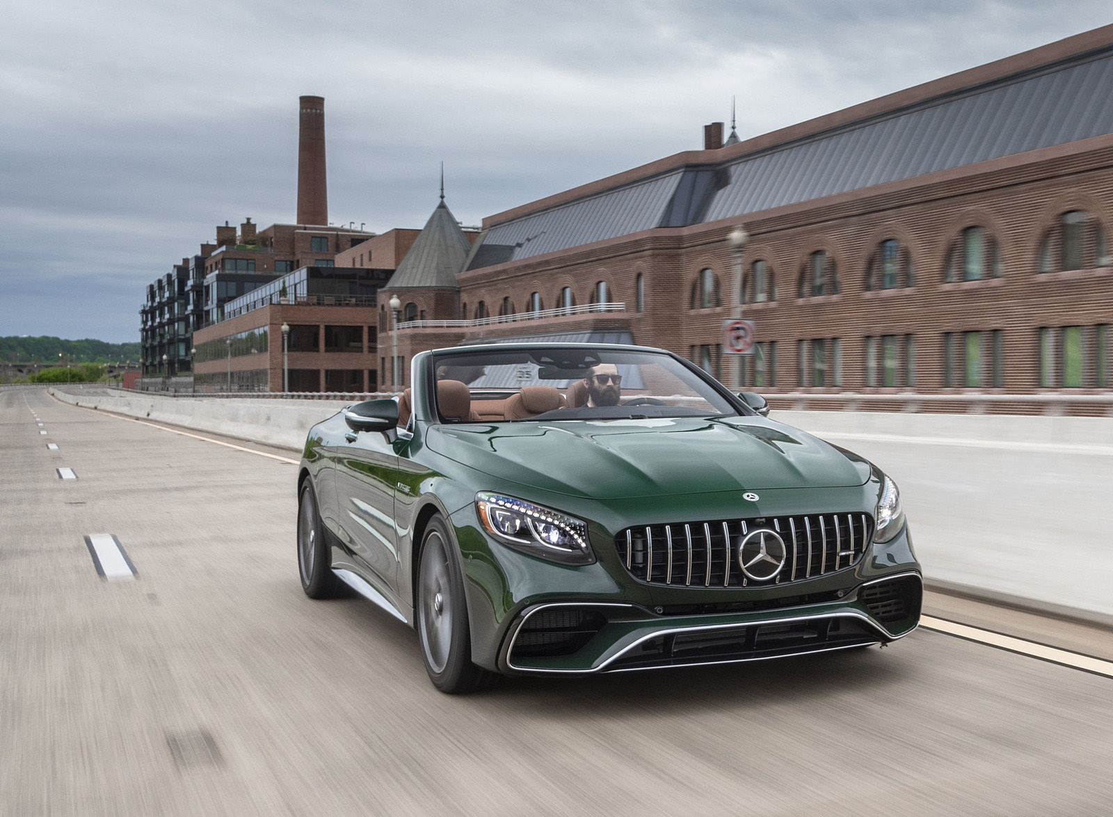 2020 Mercedes-AMG S 63 Cabriolet (US-Spec) Front Wallpapers (1)