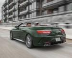 2020 Mercedes-AMG S 63 Cabriolet (US-Spec) Rear Three-Quarter Wallpapers 150x120 (12)
